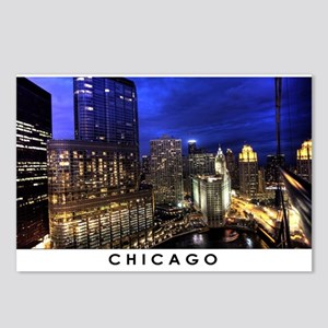 Chicago Cityscape Postcards (Package of 8)